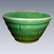 1930's Small Green Crockery Bowl