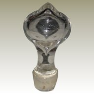 Blown Glass Stopper for Decanter or Bottle