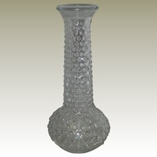 Brody Hobnail Bud Vase - Clear Glass
