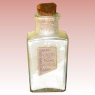 Roger & Gallet Violette de Parme Powder Perfume Bottle