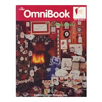 1993 Jeanette Crews Christmas Omnibook of Cross Stitch Patterns