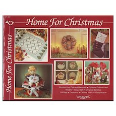 Home for Christmas - 1984 Craft Book