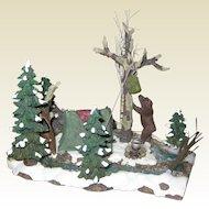 Department 56 Retired Mill Creek Campsite - Mint Condition - Village Accessories 56.52894