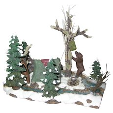 Department 56 Retired Mill Creek Campsite - Mint Condition - Village Accessories 56.52894
