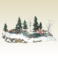 """Department 56 Retired """"The Trout Stream"""" - Mint Condition - Village Accessories 56.52834"""