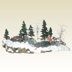 "Department 56 Retired ""The Trout Stream"" - Mint Condition - Village Accessories 56.52834"