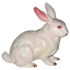 Lefton White Bunny or Rabbit Figurine