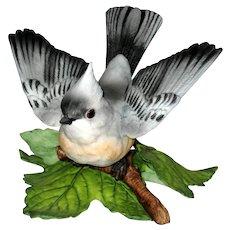 Lenox Garden Birds Figurine - Tufted Titmouse