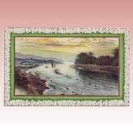 St. Patrick's Day Postcard - Lough Swilly from Castle Bridge Buncrana