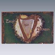 Vintage St. Patrick's Day Postcard - Erin Go Bragh