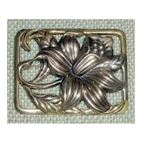 Danecraft Sterling Silver Daffodil Pin