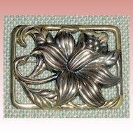 Danecraft Sterling Silver Daffodil Pin