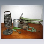 1930's Country Kitchen Items