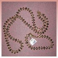 Monet Gold-Tone Necklace and Bracelet Set