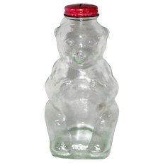 Snowcrest Beverages Glass Bear Bank