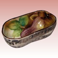 Small Noritake Porcelain Peanut Dish - 1920's