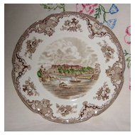 Johnson Old Britain Castles Windsor Dinner Plate