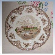 Johnson Old Britain Castles Windsor Dinner Plate