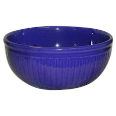 Redwing Pottery Gypsy Trail Mixing or Salad Bowl in Cobalt Blue