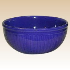 Redwing Pottery Gypsy Trail Bowl in Cobalt Blue