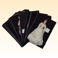 "A Collection of 16 4"" x 6"" Color Photos of Antique Dolls"
