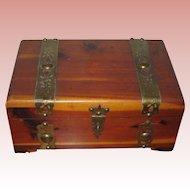 Small Cedar Wood Keepsake Box by Peterson Brothers