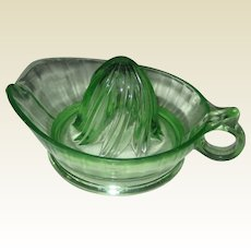 Jeanette Green Glass Reamer