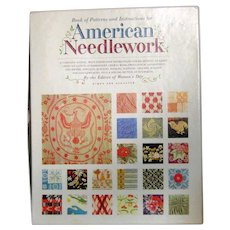 American Needlework - Boxed Set of 176 Patterns - Heritage Patterns for Early American Designs