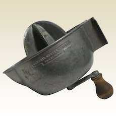 """Vintage Aluminum """"Speedo"""" Super Juicer - Circa 1920"""