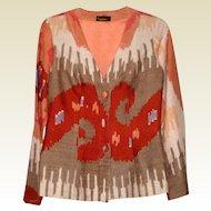 1970's Jim Thompson Tailored Thai Silk Jacket - S