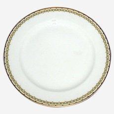 "Haviland Albany Porcelain 9 3/4"" Dinner Plate -  Schleiger 107A"