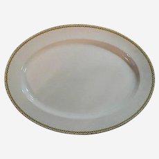 """Haviland Albany 9"""" x 13"""" Porcelain Platter - Schleiger 107A"""