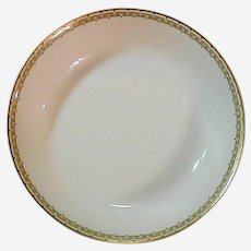 "Haviland Albany Porcelain 7"" Shallow Bowl - Schleiger 107A"