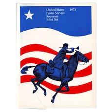 1973 United States Postal Service Mint Set of Commemorative Stamps
