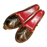 Toledo Spain Damascene Shoe Pin