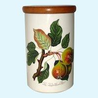"Portmeirion Pomona Teinton Squash Pear 8 3/8"" Canister Storage Jar"