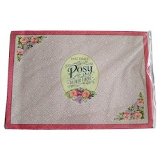 "Unopened Package of ""Past Times"" Scented Drawer Liners - Lily, Rose and Lilac"