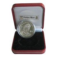 Pobjoy Mint Commemorative Silver Coin - Elizabeth, Queen Mother 2000
