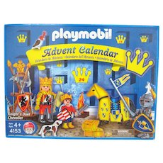 "Playmobil 4153 ""Knight's Duel Chevalier"" Diorama Play Set and Advent Calendar - Retired"