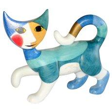 Retired Rosina Wachtmeister Goebel Porcelain Cat Figurine - Renata