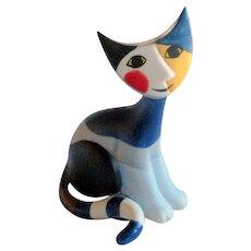 Retired Rosina Wachtmeister Goebel Porcelain Cat Figurine - Stella