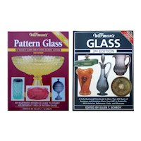 Two Warman's Reference Books - Pattern Glass 2nd Edition and Glass 3rd Edition