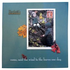 Theriault's Auction Catalogue - Come Said the Wind to the Leaves One Day
