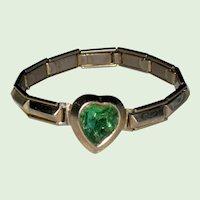 1950's Child's Expandable Heart Bracelet