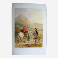 Returning from Market, Skye -1861  Leighton Brothers Lithograph
