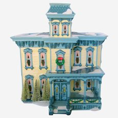1997 Dept 56 Italianate Villa 54911 - Ceramic Lighted Christmas House