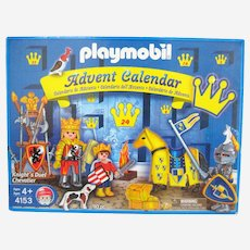 """Playmobil 4153 """"Knight's Duel Chevalier"""" Diorama Play Set and Advent Calendar - Retired"""