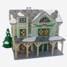 1998 Dept 56 Snow Village - American Architecture Series Stick House 54943