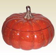 Large Autumn Harvest Pumpkin Soup Tureen - Barbara Eigen for Williams Sonoma