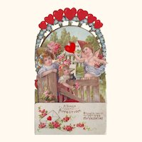 A Token of Affection - Folding Stand-up Valentine